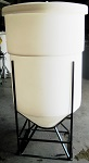Open Top Cone Bottom Polypropylene Tanks