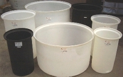 Open Top Plastic Tanks, Open Top Poly Tanks